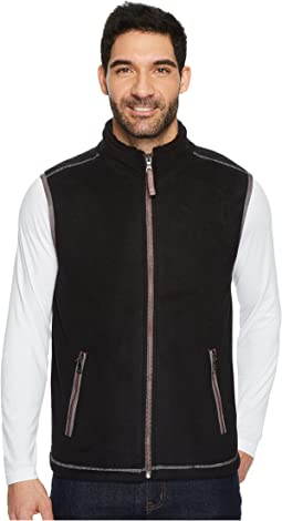 True Grit - Bonded Polar Fleece and Sherpa Zip Vest