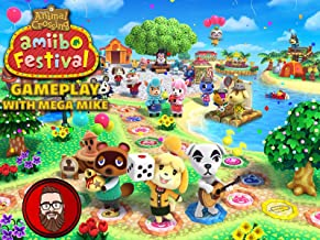 Animal Crossing Amiibo Festival Gameplay With Mega Mike