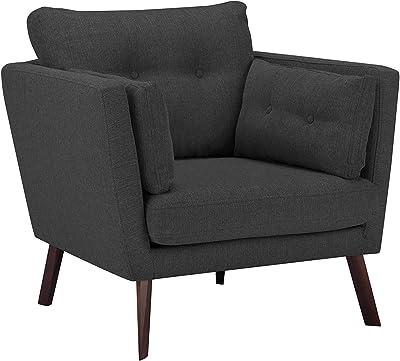 en.casa]® Sillón gris - modular - decorativo - estructura + ...