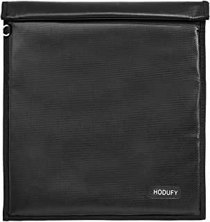 Faraday Bag for Phones, Hodufy Tablet Bag, Signal Isolation Bag, Fireproof Shield Cage for Tracking, Hacking, Travel, EMP ...