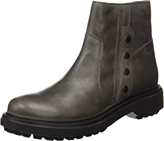 Geox D Asheely B Womens Wax Leather Ankle Boots