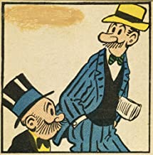 Posterazzi Poster Print Collection Mutt and Jeff Nthe Comic Strip Cartoon Characters Created by H.C. 'Bud' Fisher in 1907, (24 x 36), Multicolored