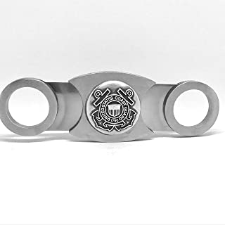 US Coast Guard Cigar Cutter – Double Guillotine Blades – in Gift Box