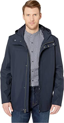 Button Front Water Resistant Jacket