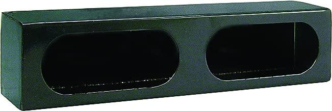 Buyers Products LB3163 Dual Oval Light Box, Black Powder Coat Steel
