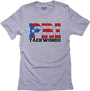 Hollywood Thread Olympic Taekwondo - Puerto Rico Men's T-Shirt