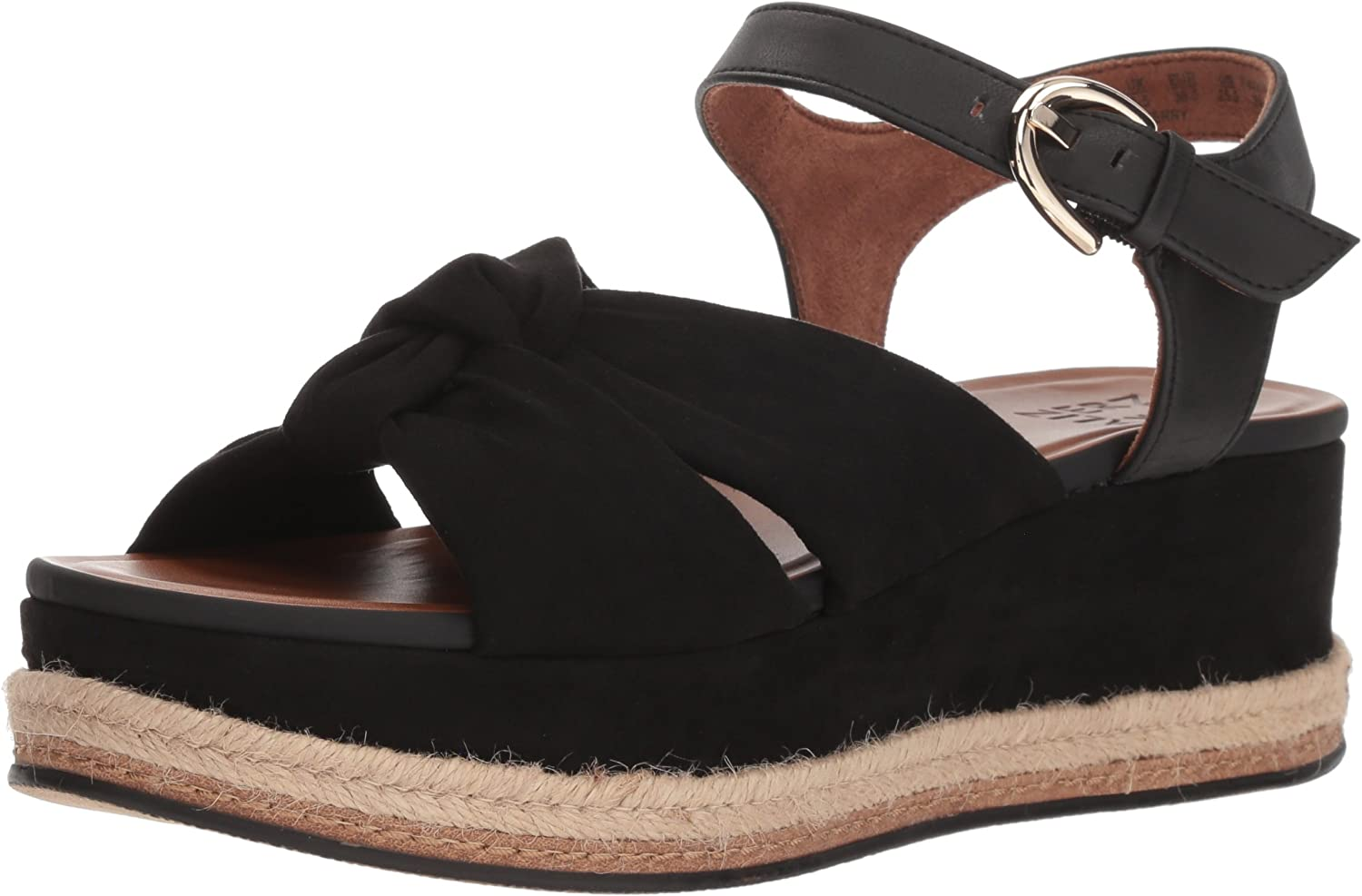 Naturalizer Womens Berry Espadrille Wedge Sandal