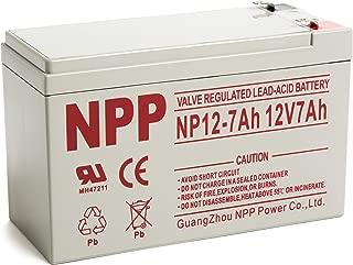 Best johnlite 12v 7ah 20hr rechargeable battery Reviews