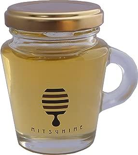 くま養蜂 みつひめ 国産はちみつ みかんの花唄110g かわいい小瓶取手付 ギフト・自家用 非加熱 無添加 純粋