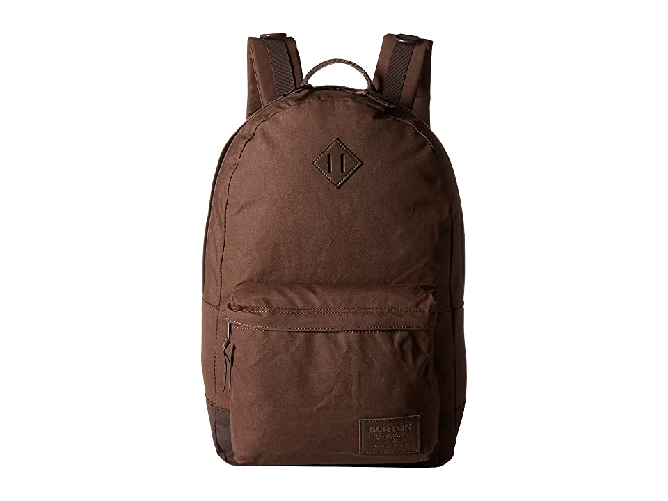 Burton Kettle Pack (Cocoa Brown Waxed Canvas) Backpack Bags