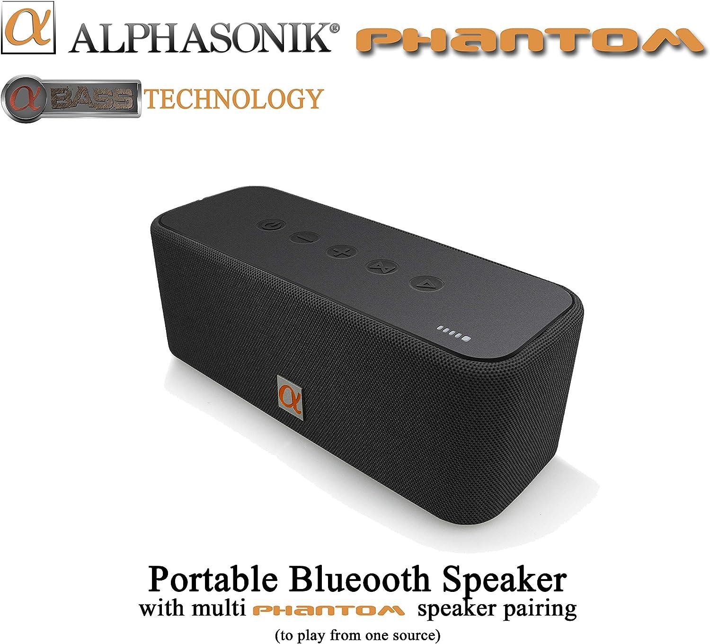 Alphasonik Phantom Wireless Bluetooth Safety and trust Portable Brand new V4.2 Speake Party