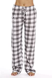 e8af188da4f Just Love 100% Cotton Jersey Women Plaid Pajama Pants Sleepwear
