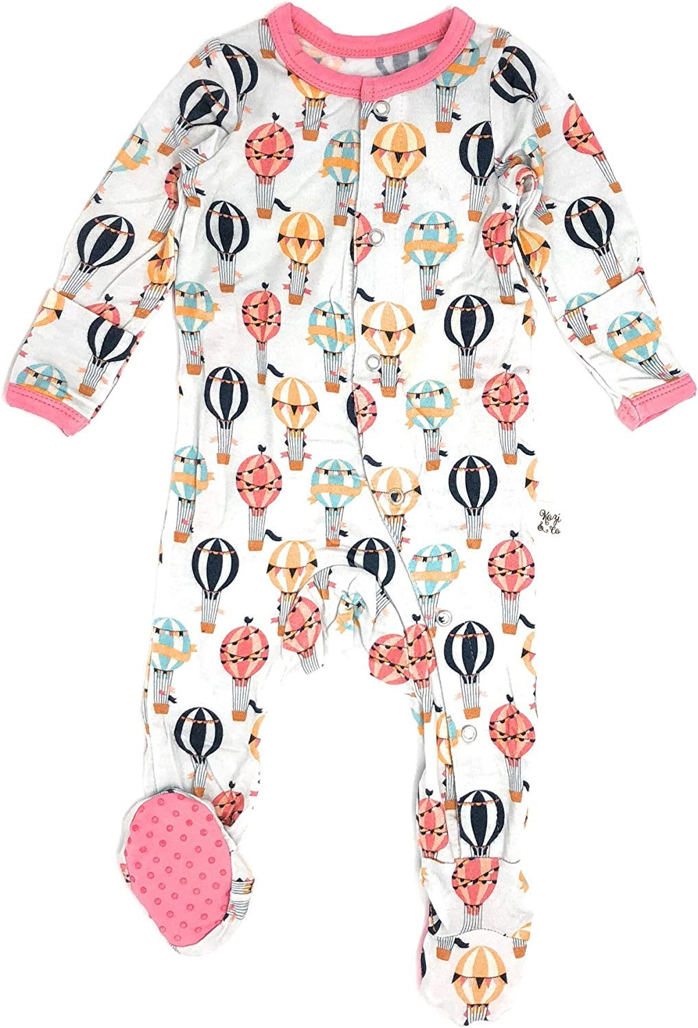 Kozi Co. Baby Sleeper Footie New Free Shipping Pajamas Infant Girls Away Up Max 80% OFF