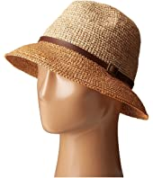 SCALA - Crochet Raffia Six-Way Fedora