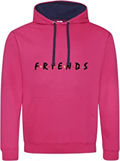 1d92c31f27f3 CHILLTEE Friends Cool Fun Style Friends TV Series Premium Sudadera con  Capucha Unisex