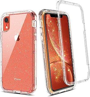 comprar comparacion BENTOBEN iPhone XR Funda Transparente Cristal Brillante Resistente Cuerpo Protectora Completo Antigolpes Carcasa Combinada...