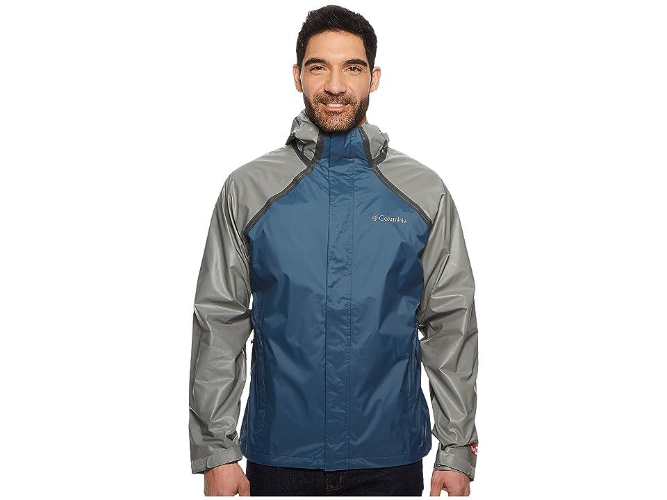 Columbia OutDry Hybrid Jacket (Whale/Titanium) Men