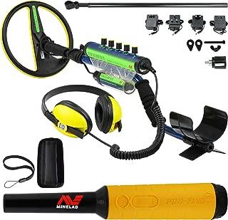 Minelab Excalibur II 1000 Waterproof Detector Bundle Pro Find 35
