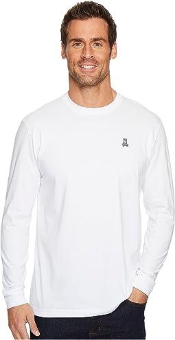 Psycho Bunny - Crew Neck Long Sleeve T-Shirt