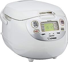 Zojirushi NS-ZAQ18 Micom Rice Cooker 1.8L,Premium White