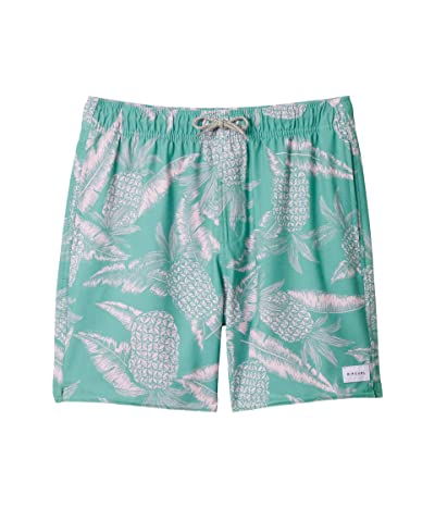 Rip Curl Kids Paradise Party Volley (Big Kids) (Teal) Boy