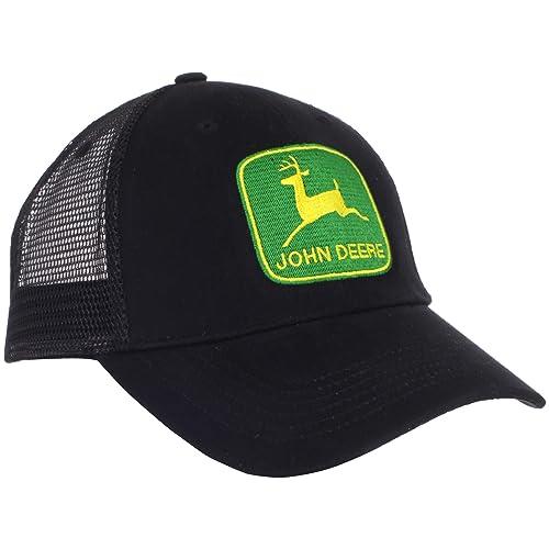 d1b890ce4c3 John Deere Men s Vintage Logo tm Trucker Cap