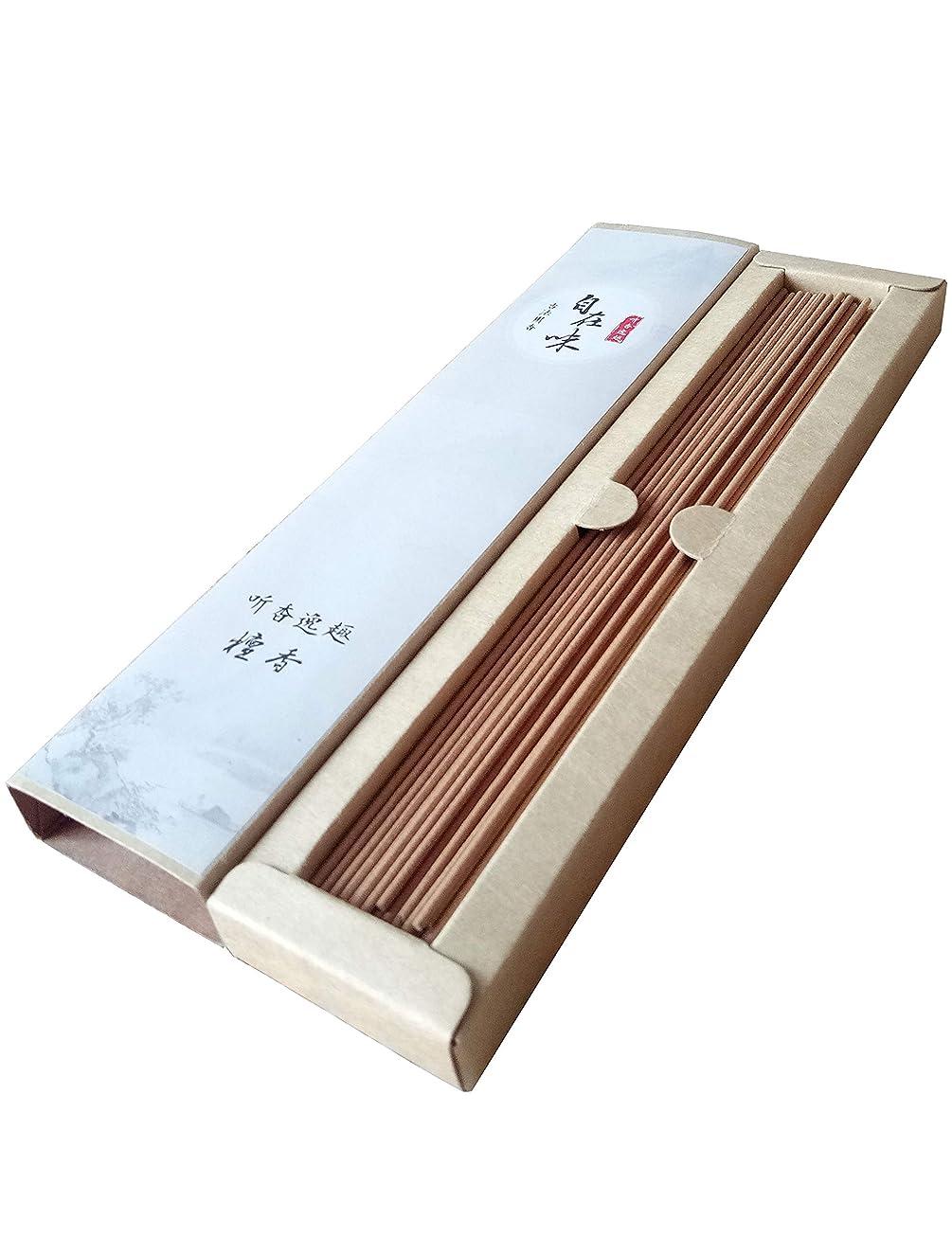 余裕がある水没オゾンお線香 天然素材 煙の少ない 白檀 お徳用 (长寸21cm 85本入)