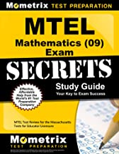 MTEL Mathematics (09) Exam Secrets Study Guide: MTEL Test Review for the Massachusetts Tests for Educator Licensure