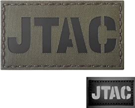 Ranger Green JTAC Joint Terminal Attack Controller Air Support FAC Infrared IR 3.5x2 Tactical Morale Hook&Loop Patch