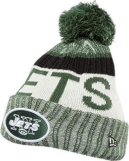 New Era Men's Men's Jets 2017 Sideline Official Sport Knit Hat