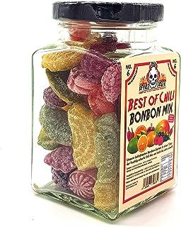 BONBON MIX BEST OF CHILI IM GLAS - von mild zu extra scharf - 200g - RED DEVILS TASTE