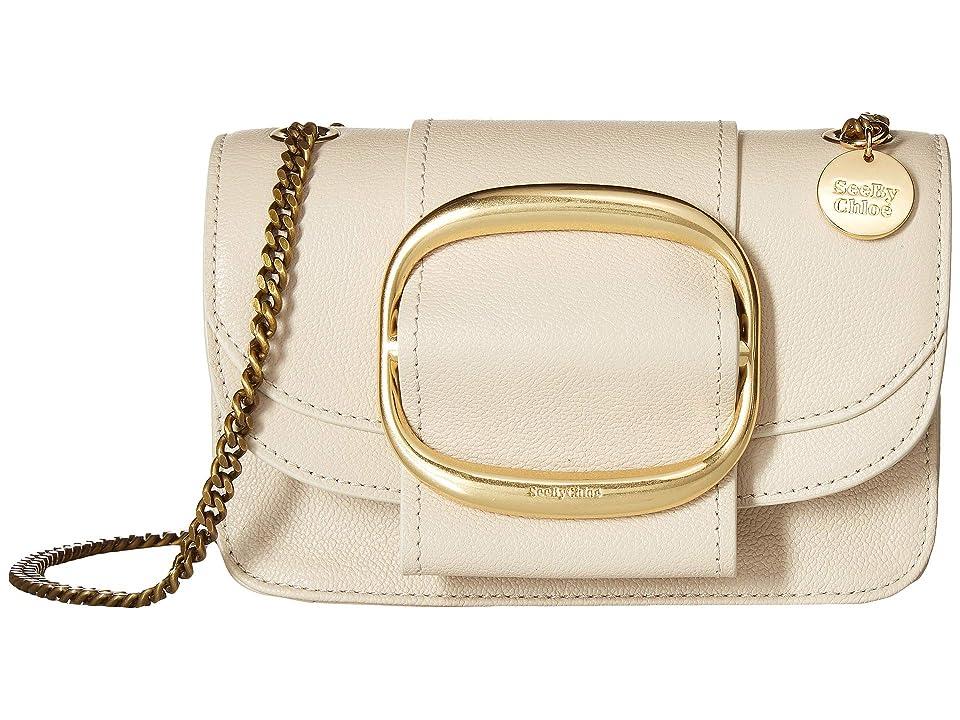 See by Chloe Hopper Small Crossbody (Cement Beige) Cross Body Handbags