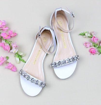 765c95786 Flat Wedding Shoes - Style Finn in Ivory