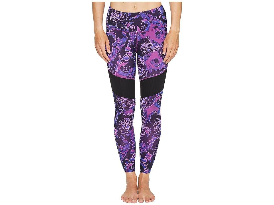 The North Face Motivation Mesh Leggings (Wood Violet Roses Print (Prior Season)) Women