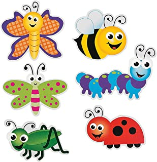 Bug Cutouts (Set of 48) Bulletin Board Classroom Decor
