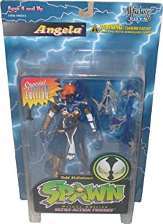 Spawn 1997 Action Figure - Special Edition Blue Angela - Collector's Club Exclusive