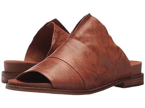 KELSI DAGGER BROOKLYN Ohana Slide, Russet Veg Leather