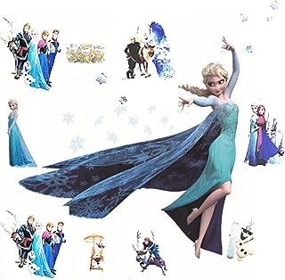 Kibi Stickers Infantiles Frozen Adhesivos Pared Decorativos Pegatinas De Pared Frozen Para La Habitaci/ón Ni/ños Decoraci/ón De Pared Dormitorio Bebe Pegatinas De Pared Extra/íble