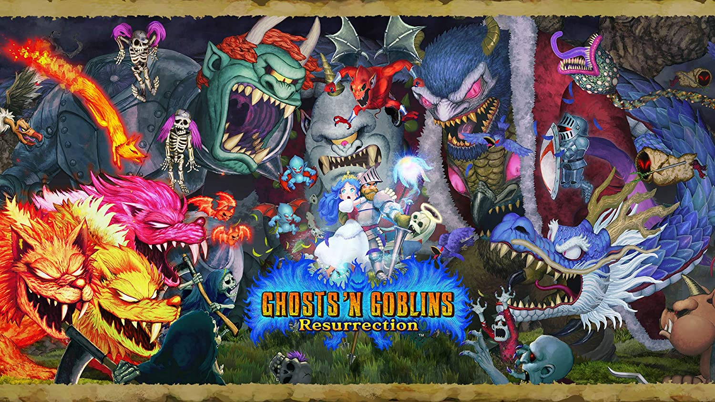 Ghosts 'n Max 82% OFF Very popular Goblins Resurrection Standard Digital Switch - Code