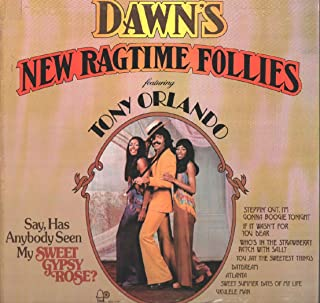 Dawn's New Ragtime Follies featuring Tony Orlando [LP Record]