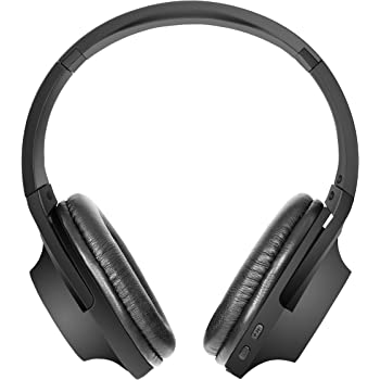 Hamaan H-10 Extra Bass Wireless Bluetooth On-Ear Headphones (Black)