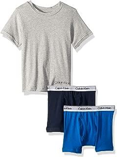 Calvin Klein Boys Bundle 2box Brief & Tshirt Underwear - Multi