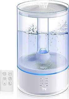 Gocheer Luftbefeuchter,6L Ultraschall Luftbefeuchter,kleiner 38dB leiser Luftbefeuchter, ätherisches Öl diffuser Luftbefeu...