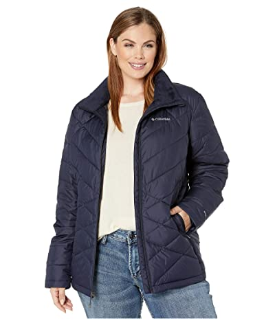 Columbia Plus Size Heavenlytm Jacket (Dark Nocturnal) Women