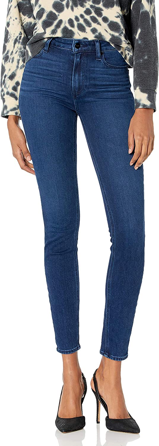 PAIGE Women's Hoxton Transcend Vintage Ultra Rise High Baltimore Mall Skinny El Paso Mall Je