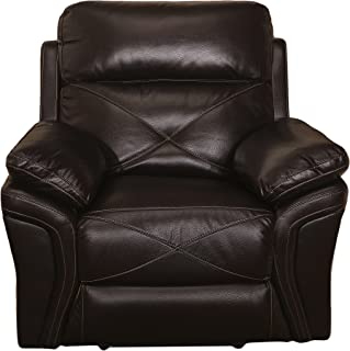 New Classic Furniture Galaxy Upholstery Recliner Glider, Manual, Chocolate