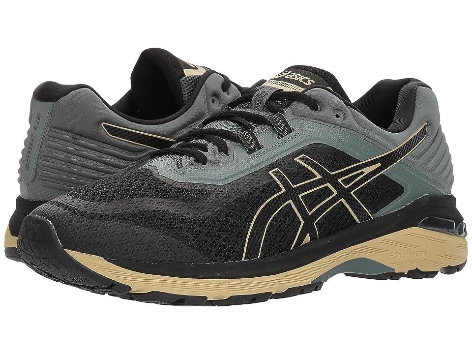 ASICS GT-2000 6 Trail (Black/Black/Dark Forest) Men