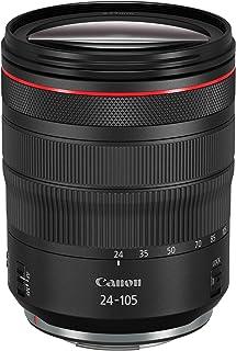 Canon 中望遠ズームレンズ RF24-105mm F4L IS USM EOSR対応 全長107.3mm ブラック RF24-10540LIS