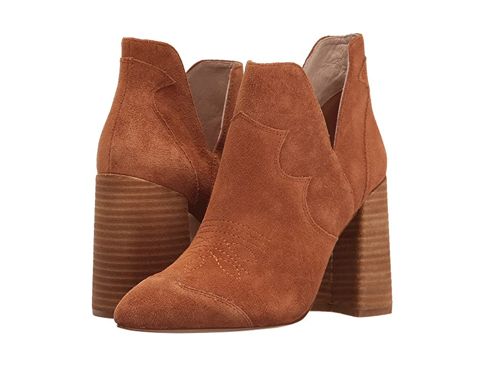 Shellys London Duarte Bootie (Tan Suede) High Heels