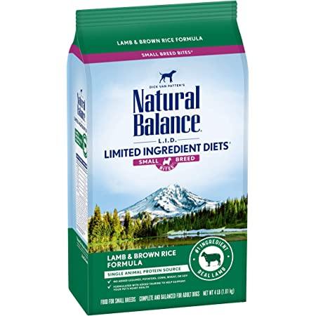 Natural Balance L.I.D. Limited Ingredient Diets Adult Small Breed Bites Dry Dog Food